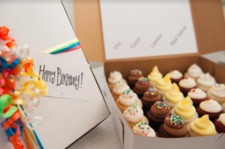 Birthday Box - Mini Cupcakes